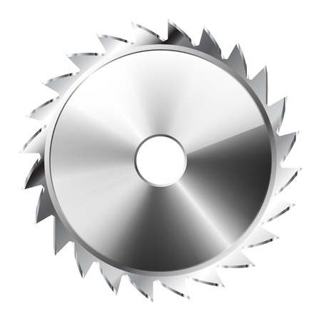 saws: Illustration Saw Blade . Icon.