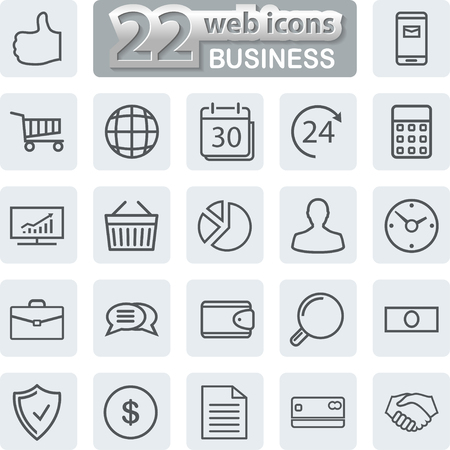 report icon: Business line Icons