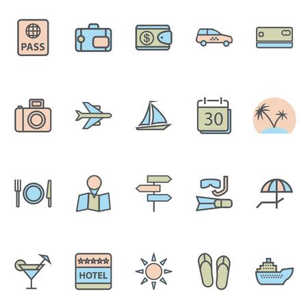 sail fin: Travel Web Icons and Tourism Symbols