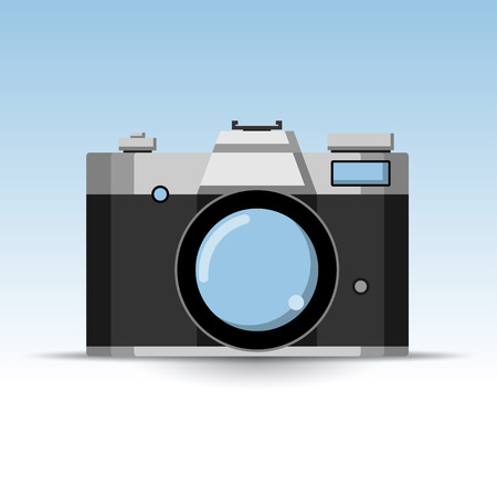 generalized: Photo Retro Camera Icon.