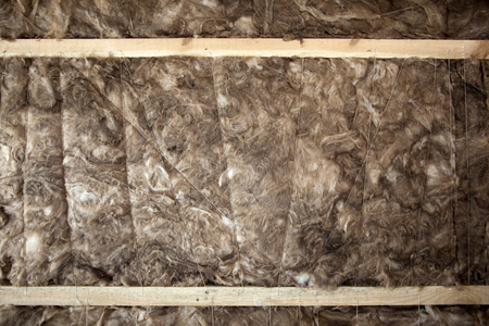 glasswool: Thermal insulation Glass Wool closeup