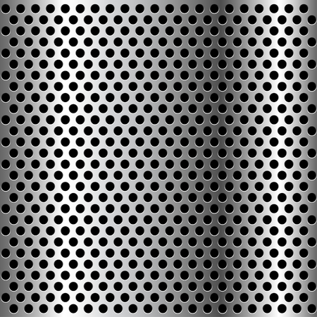 chrome metal: Chrome Grid Metal background. Illustration Vector. Illustration