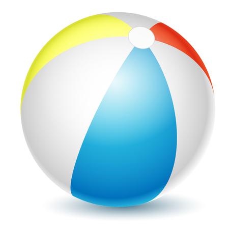 Wasserball getrennt auf einem weißen Hintergrund. Vektor-Illustration.