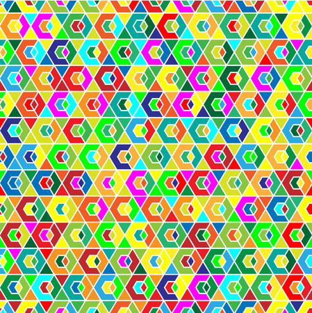 Geometric Seamless Background Pattern. Illustration vector