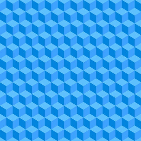 blue seamless geometric texture. Illustration background Vector