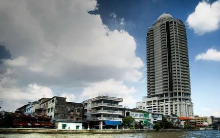 chao: City along Chao Phraya. Bangkok, Thailand