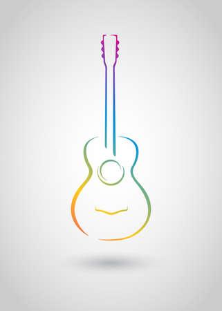 cổ điển: guitar acoustic Hình minh hoạ