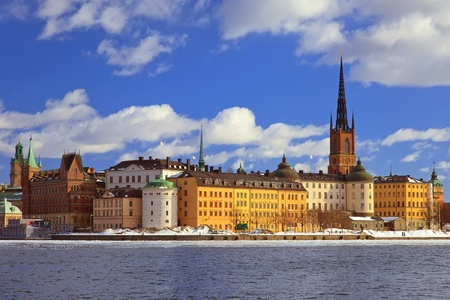 Riddarholmen, small island in central Stockholm. Sweden.  photo