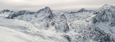 Morgen Panorama der Pyrenäen
