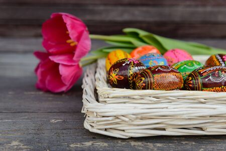 Easter attributes Stock Photo