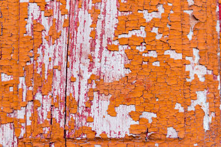 Wooden texture with scratches and cracks Stock Photo