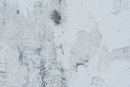 Wall fragment with attritions and cracks 스톡 콘텐츠