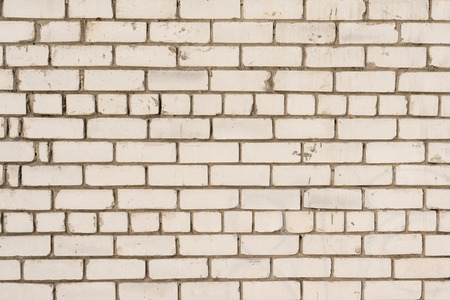 Texture, brick, wall, can be used as a background. Brick texture with scratches and cracks