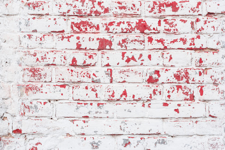 Brick texture with scratches and cracks