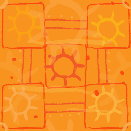 slatternly: sun Illustration