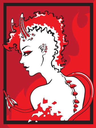 temptress Illustration