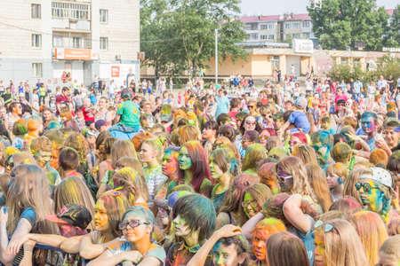 Holi festival of colors Editorial