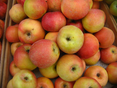 garnets: apples
