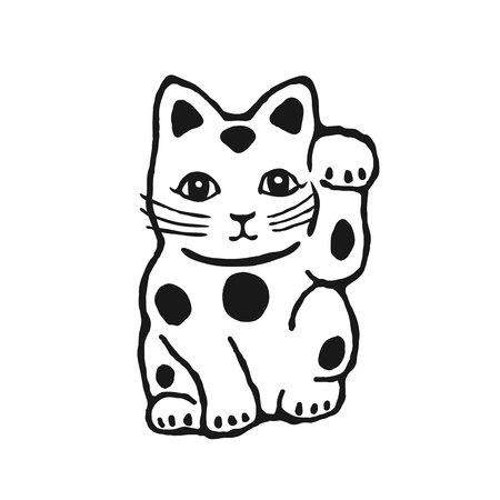 fortune cat: maneki neko