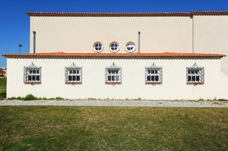 LISBON, PORTUGAL - FEBRUARY 12, 2019: Photo of the building part of Popular Art Museum in Lisbon.