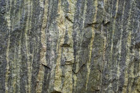 Green stone textured wall background with roughness and irregularities.