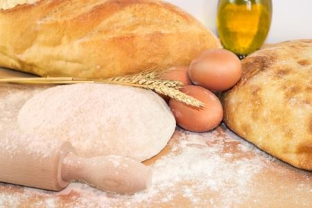 Präparate für die Zubereitung frisch gebackenem Brot