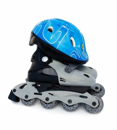 Roller-skates with sport hamlet