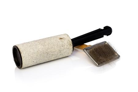 Roller zum Entfernen von Tierhaaren und Haarbürsten