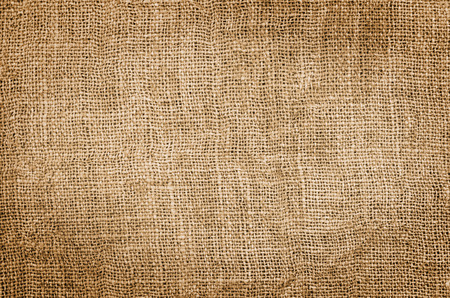 Burlap hessian square, background