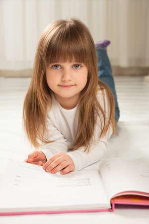 Girl Reading photo