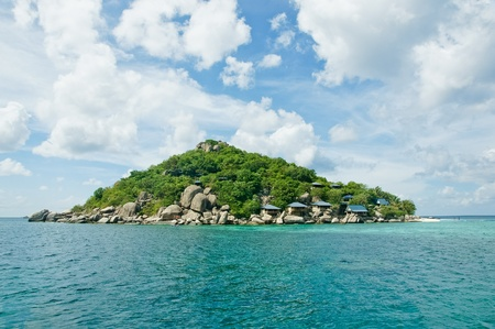 nangyuan: Nang Yuan island in Thailand Stock Photo