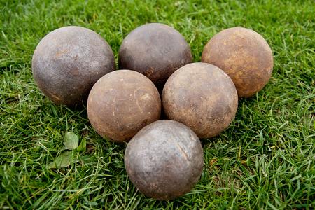 shot put: Bolas - lanzamiento de peso