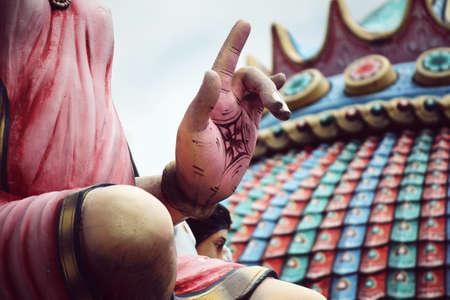hinduismo: estatuas relacionadas con el hinduismo