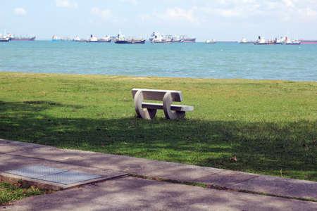 the east coast: bench at east coast