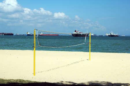 the east coast: beach volleyball at east coast beach singapore