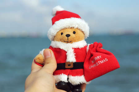 soft toy: christmas related cute soft toy