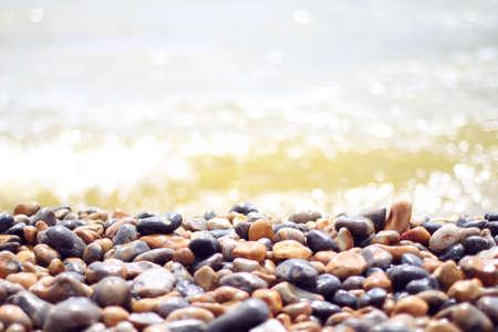 pebble: pebble beach at brighton