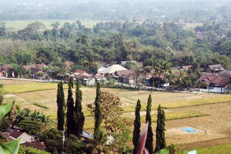 overlook: overlook of yogyakarta city