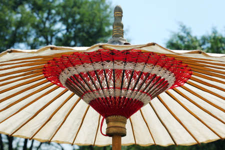 style: ancient chinese style umbrella Stock Photo