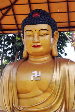 golden: golden buddha Stock Photo