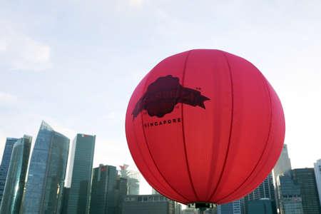 bella: pink pasar bella ballon at marina bay