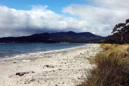 tasmania: beach at tasmania shore