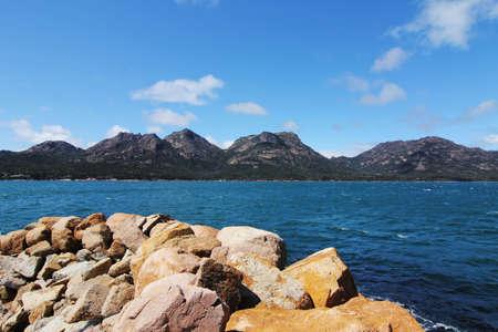 tasmania: Honeymoon Bay at tasmania