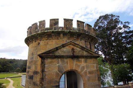 historic: Port Arthur Historic Site building Stock Photo
