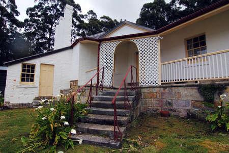 historical: historical house at port arthur