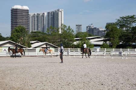 horse riding center Editorial