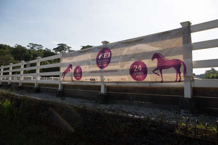 banner of horse riding event