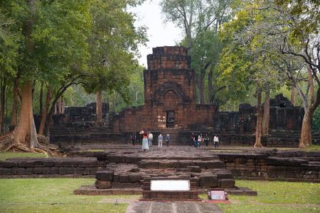 Archaeological site in kanchanaburi, Thailand
