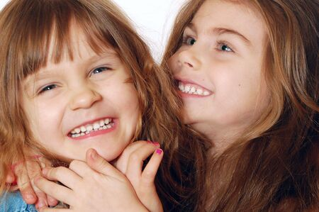 Two Playful Girls Stock Photo - 4283685