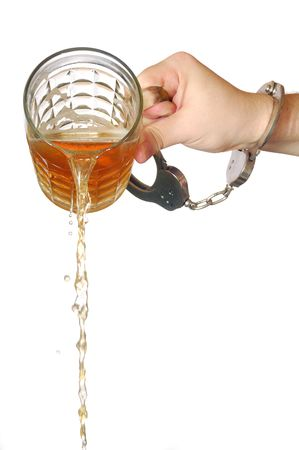 pouring beer away Stock Photo - 4321054